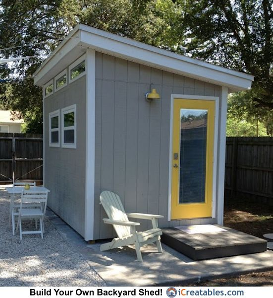 11 best images about modern shed designs on pinterest for Modern garden shed designs