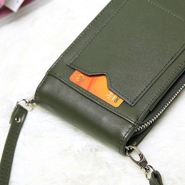 Vintage Mini Hasp Shoulder Bags Girl Casual Crossbody Bags 5.5'' Phone Case Bags For Iphone Huawei