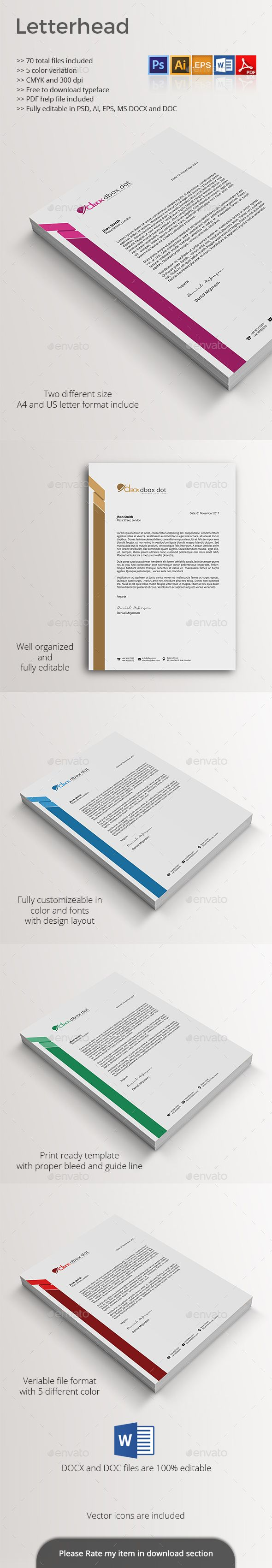 how to create a letterhead in illustrator for word