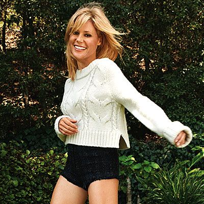 Julie Bowen is proud of her legs (and she should be!). Find out how she does it in this interview.