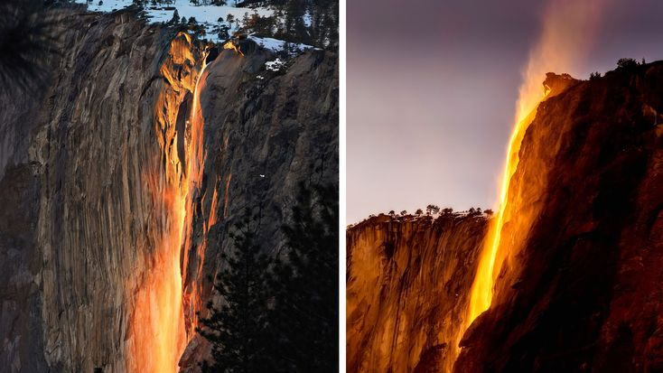 Yosemite now requires permits for photographing famous Firefall event   Yosemite now requires permits for photographing famous Firefall event  February 5 2018 by Dunja Djudjic Leave a Comment   From 12 to 26 February visitors of Yosemite National Park will be able to see and capture the magnificent firefall phenomenon. Due to its increasing popularity this years event will require parking reservations and permits for everyone who wants to attend.  According to CBS the annual firefall event…