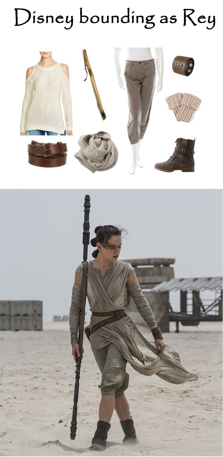 Disney bounding as Star Wars' Rey