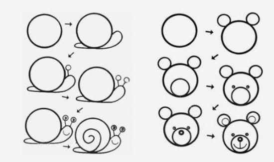 Las 25 mejores ideas sobre como dibujar facil en pinterest for Comedor facil de dibujar