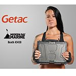 Getac Exhibits Line of Fully Rugged and Ultra-Rugged Laptops and Tablets at Annual Modern Day Marine Expo