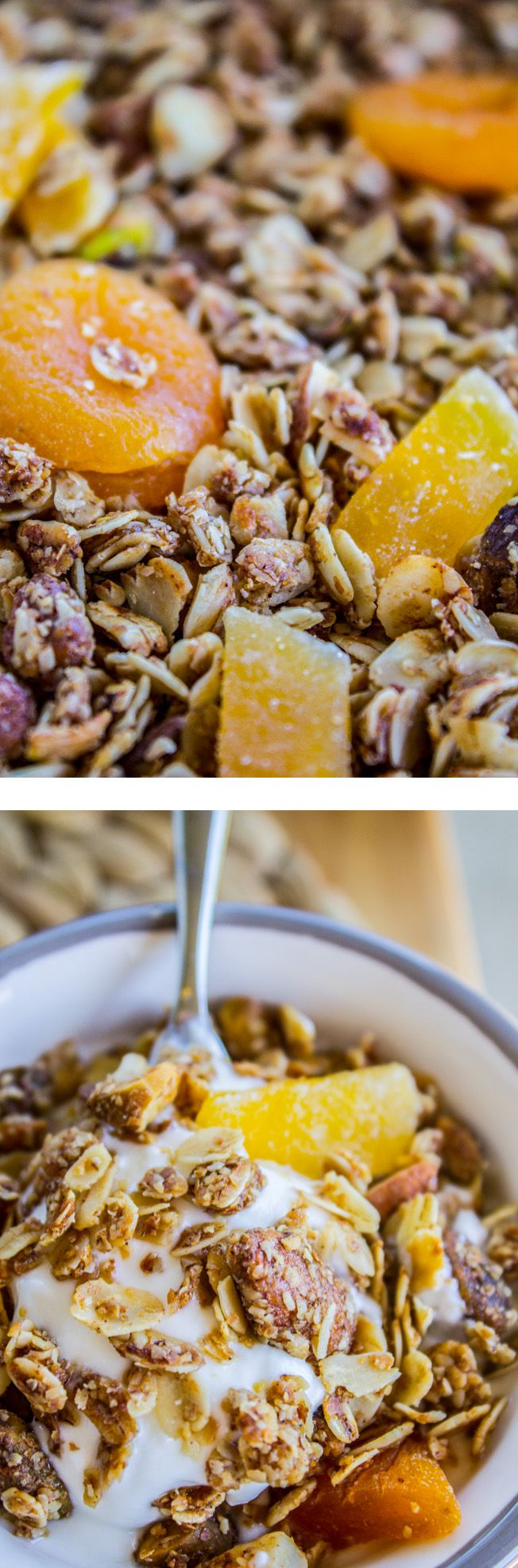 Tropical Mango Coconut Granola from The Food Charlatan. Coconut ...