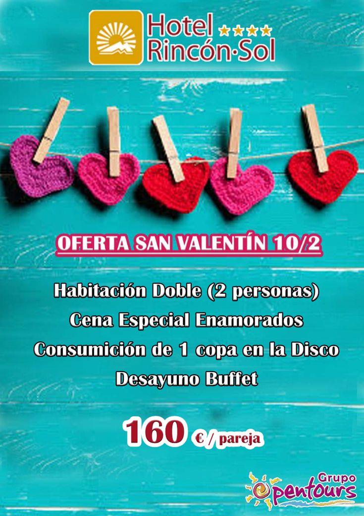 Hotel Rincón Sol **** (Nerja, Costa del Sol, Málaga, Andalucía, España) ---- Oferta SAN VALENTIN 2018 ---- 160 € por pareja ---- Información y Reservas en tu - Agencia de Viajes minorista - ---- #hotelrinconsol #nerja #malaga #costadelsol #andalucia #sanvalentin2018  #verano2018 #escapadas #reservas #hoteles #vacaciones #estancias #ofertas #actividades #spain #familias #niños #agentesdeviajes #agenciasdeviajes  #mayorista #touroperador #opentours #grupoopentours