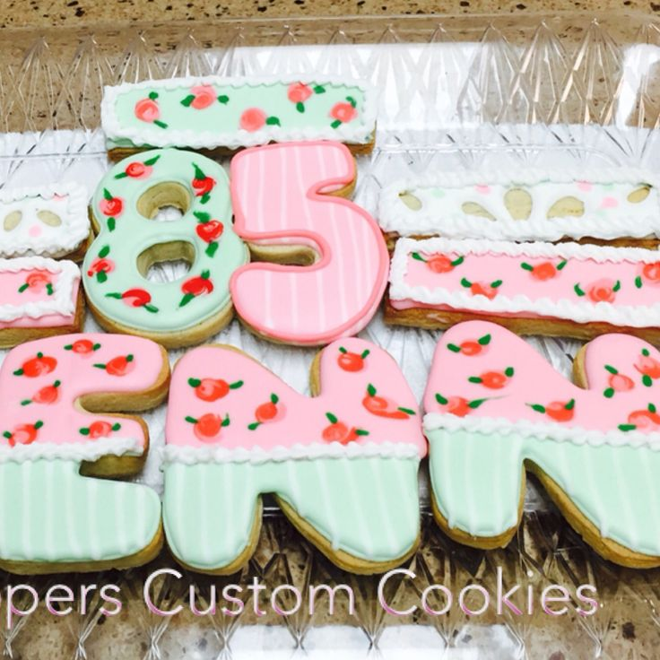 206 Best Birthday Decorated Cookies And Cake Pops Images