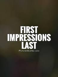 first impressions quotes - Google Search