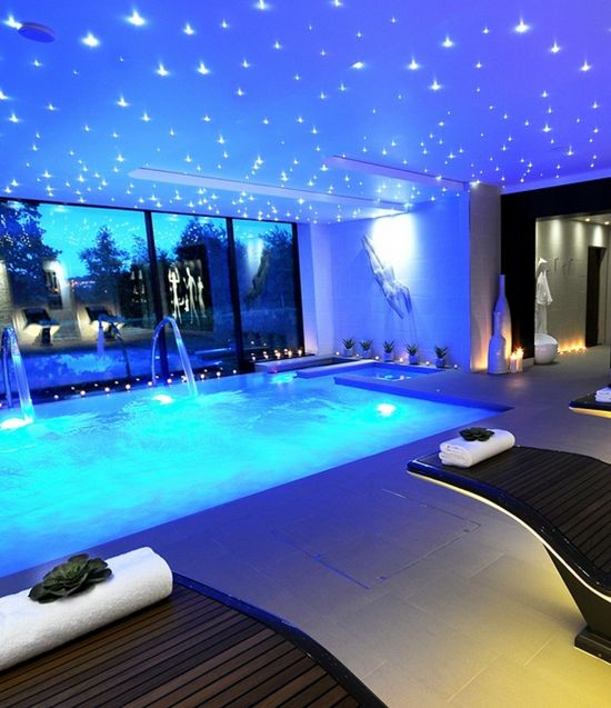 Hotel Indoor Pool Luxury