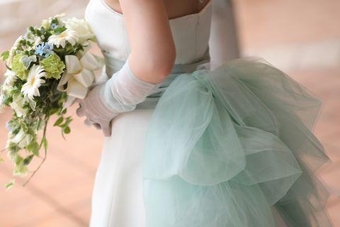 ウェディングドレス ウェディングドレス サッシュベルト : ... ウェディングドレス事例 - NAVER