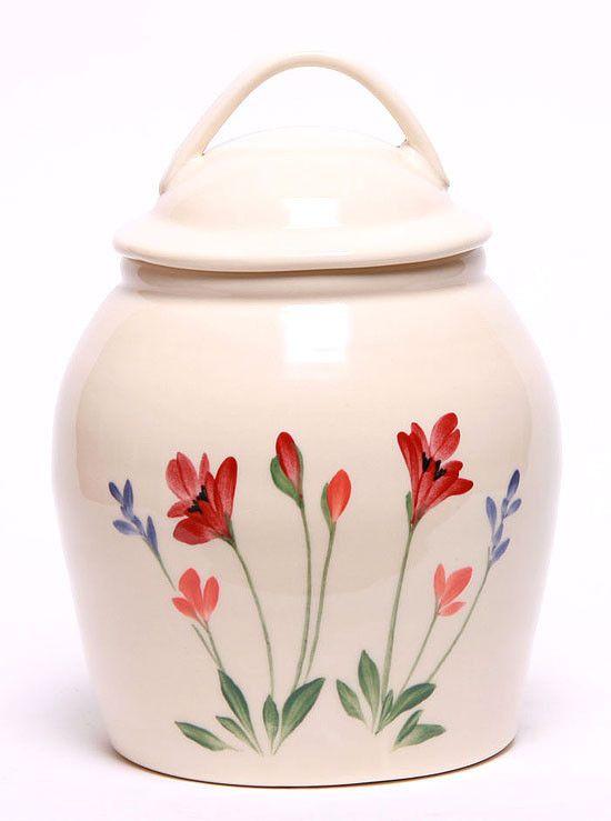 Ceramic Cookie Jar - 11 Pattern Options