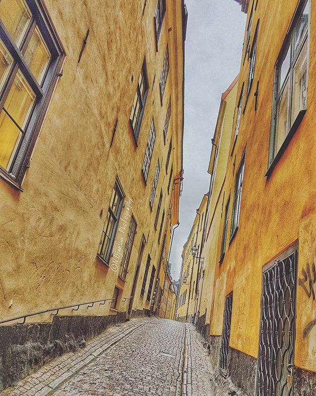 Streets of Stockholm's old town. Beautiful place. Too bad we had so little time on land. Have to visit again 😊📷 #stockholm #tukholma #street #katu #instatravel #travel #holiday #loma #loveit #amazing #loveit #picoftheday #travelgram #yellow #trip #matka #vikingline #cruise #risteily #sweden #ruotsi by n.ojansuuphotography. katu #risteily #loma #travelgram #street #instatravel #stockholm #loveit #matka #trip #picoftheday #travel #tukholma #holiday #amazing #cruise #vikingline #sweden…