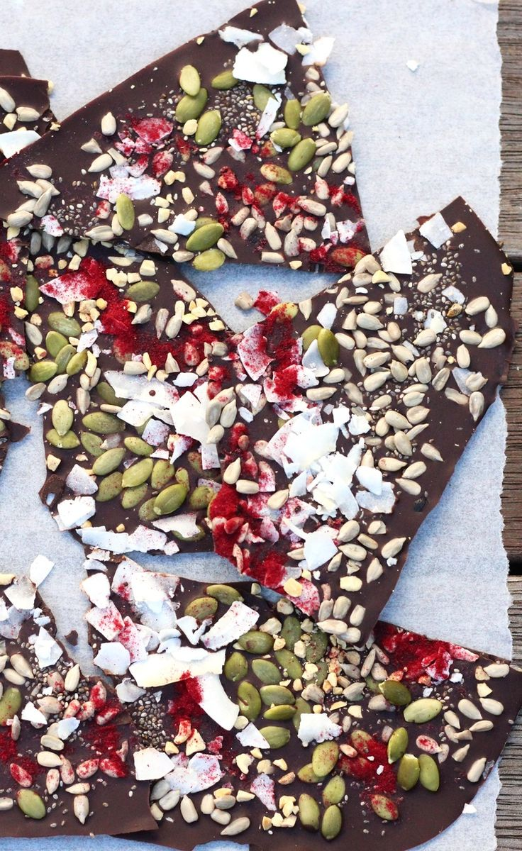Chocolate Bark — Healthy Always