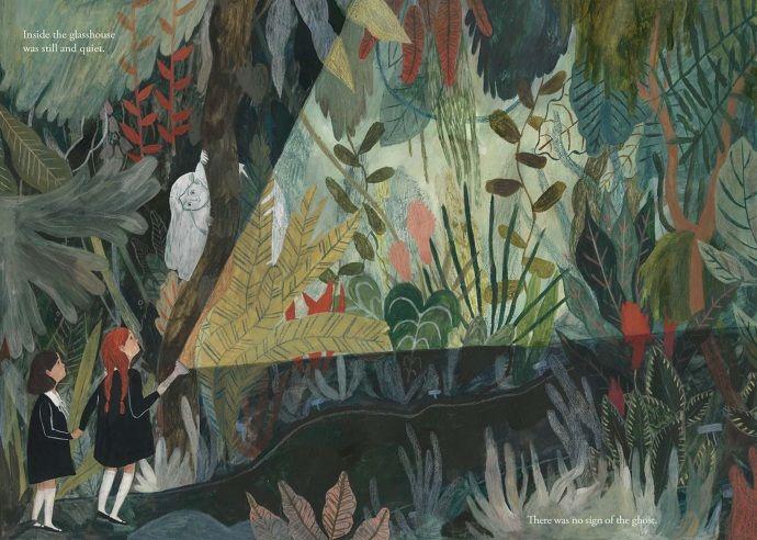 The Ghost in the Glasshouse (NEW) - katie harnett illustration