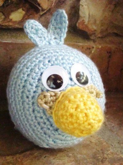 Blue Angry Bird Amigurumi Pattern : 1000+ images about Haken Figuren on Pinterest