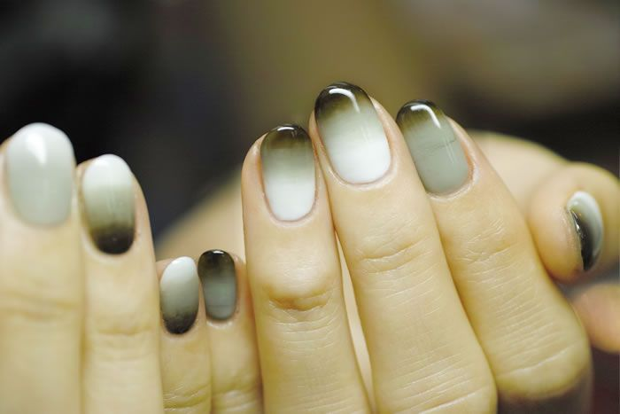 NAIL-COMMON: double-gradation nail