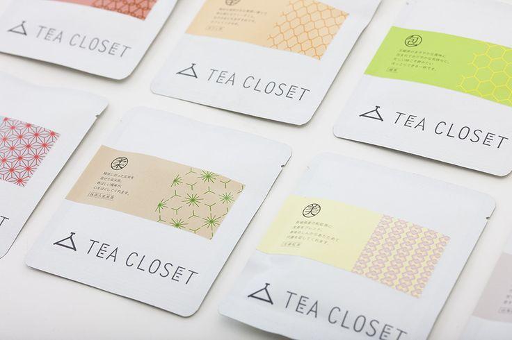 TEA CLOSETのデザイン|お茶の秋月園