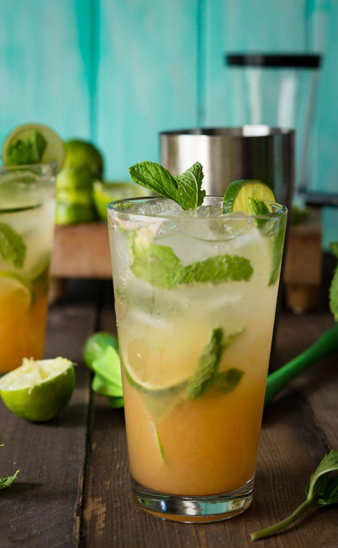 POG Mojitos ( Passion-Orange-Guava)