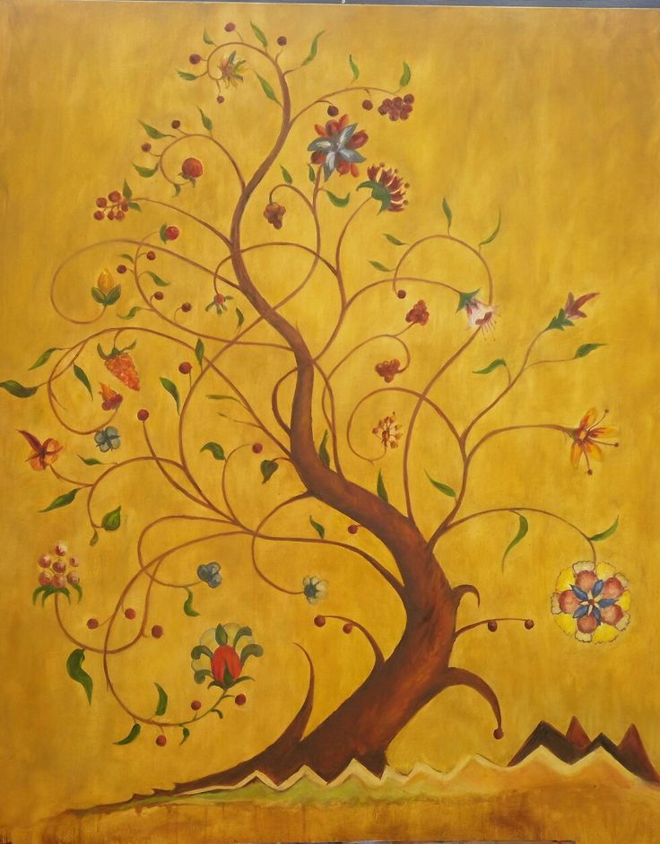 Tolkein's Tree of Life (commission) by Jo Cooke
