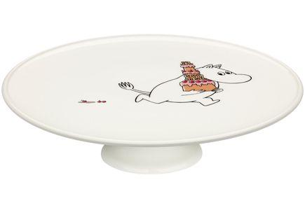 Arabia Muumit -Juhlahetki jalallinen kakkuvati 26 cm - Prisma verkkopalvelu...LÖYTYY ♡