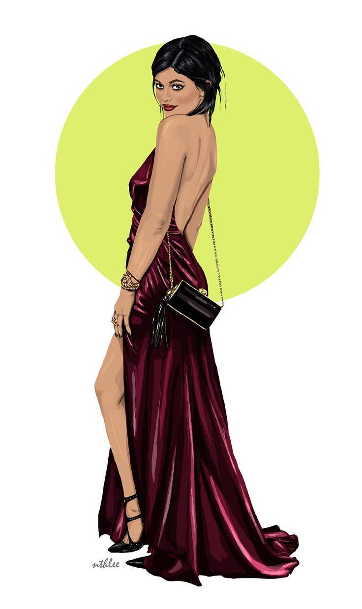 NTHLEE illustrations / NATALIA NAZIMEK #art #fashion #inspiration #love #illustration #outfit #cap #beautiful #model #jenner #kyliejenner #digitalart #digital #graphicdesign #madewithwacom #wacom