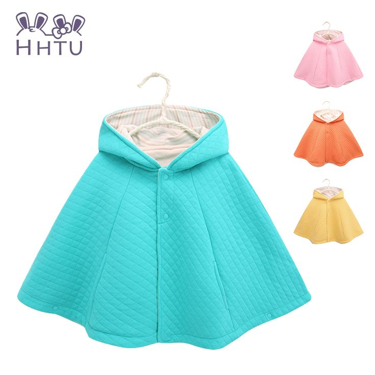 HHTU Bread Baby Cloak Boy&Girl Clothes Child Cotton Coat Jackets Baby Cape Cloaks Clothes for Spring and Autumn