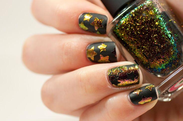 ILNP Electric Carnival nail art