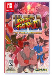 Street Fighter II, the most iconic fighting game of all time, is back on the Nintendo Switch! The newest iteration of SFII in nearly 10 years, Ultra Street Fighter II features all of the classic characters, a host of new single player and multiplayer features, as well as two new fighters: Evil Ryu and Violent Ken!