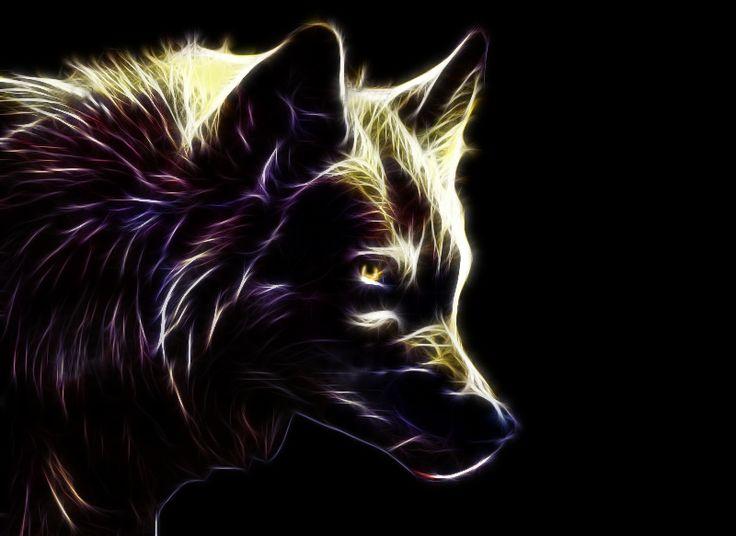 fractal animal art | Fractal Wolf by MG-Ritzel