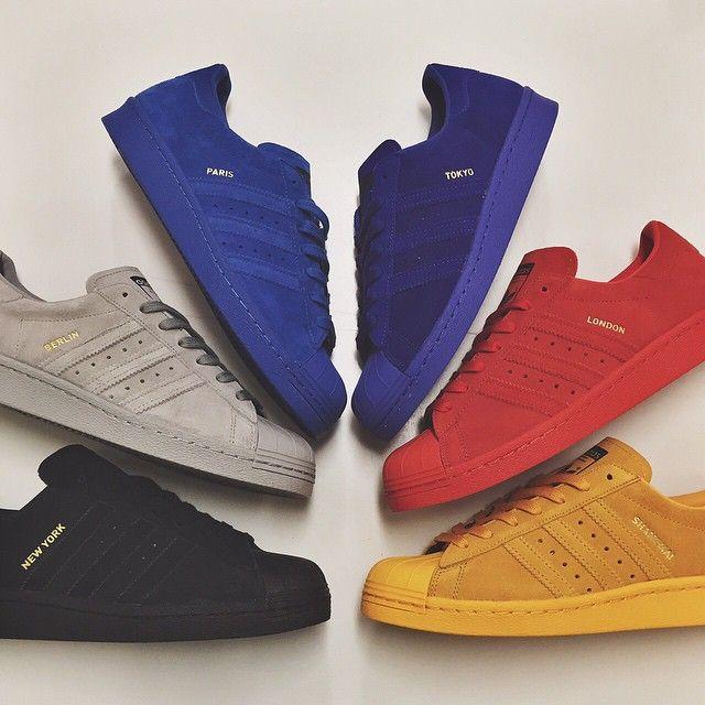 The adidas Superstar 80's 'City Series'