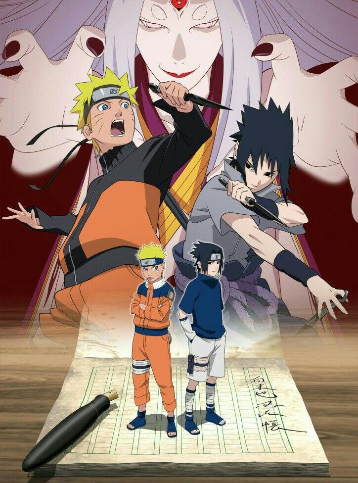 Naruto, Sasuke and Kaguya