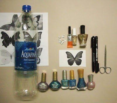 Πεταλούδες , ανακύκλωση , πλαστικά μπουκάλια, ιδέες διακόσμησης