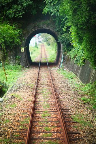 長良川鉄道 - Train Tunnel Japan