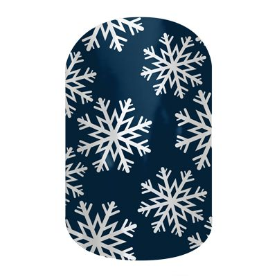 It's barely autumn, but I'm excited for these winter wraps!! Winters Edge  nail wraps by Jamberry Nails