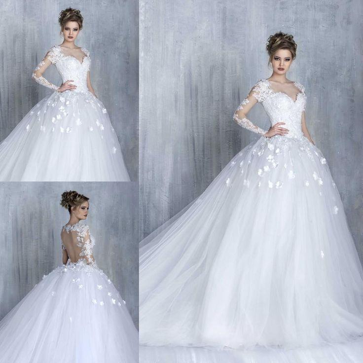 The 290 best Wedding Dresses images on Pinterest | Wedding frocks ...