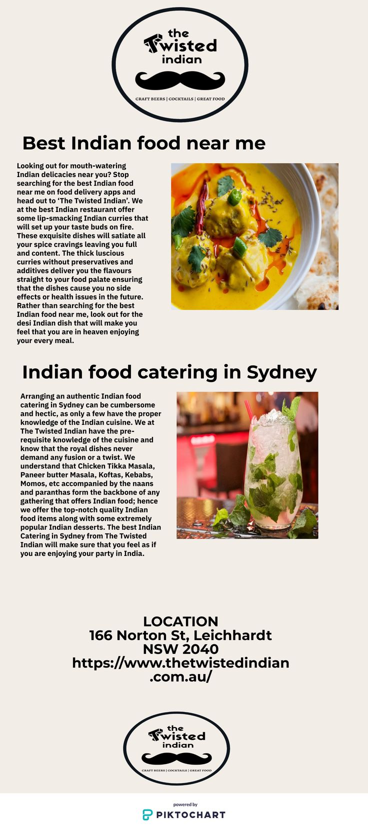 Pin by The Twisted Indian on Best Indian food near me in 2020 (With images) | Food, Indian food ...