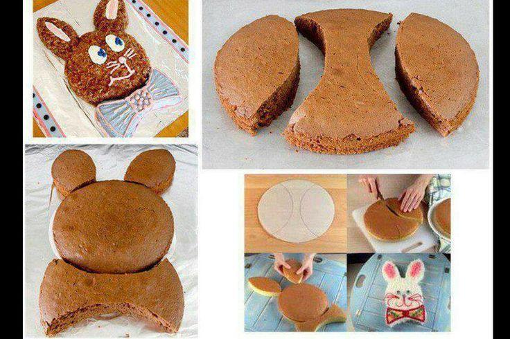 Gâteau anniversaire enfant #children #cake #rabbit #birthday
