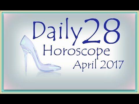 Daily Horoscope April 28, 2017
