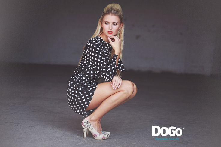 DOGO High Heel  #dogogermany #dogo #fashiontrends #larissahermanowsky #designedshoes #vegetarianshoes #veganshoes #printedshoes #highheel