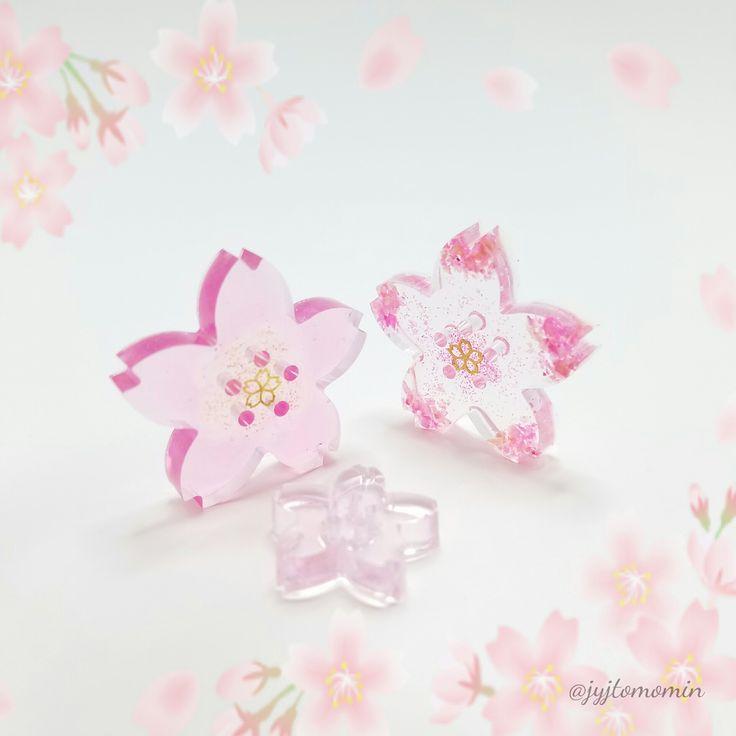 セリアのシリコンモールドで桜の型抜きレジン : UVレジンの作品紹介 ... セリアで購入したシリコンモールドで桜の型抜きレジンを初めて作りました♪