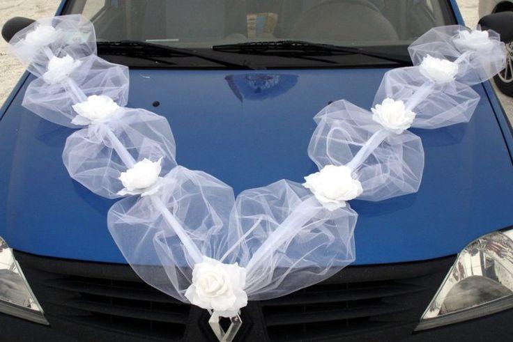 Как интересно украсить машину лентами на свадьбу своими руками?