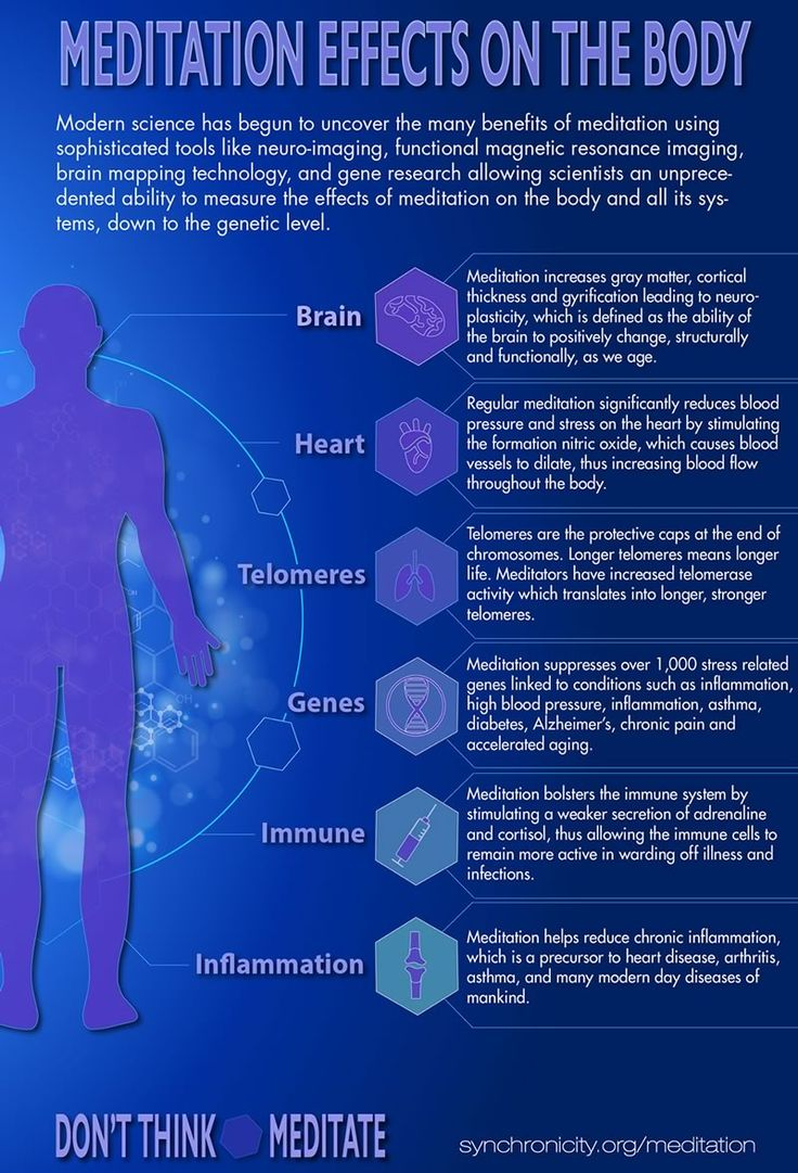 Meditation effects on the body - loved & pinned by www.omved.com