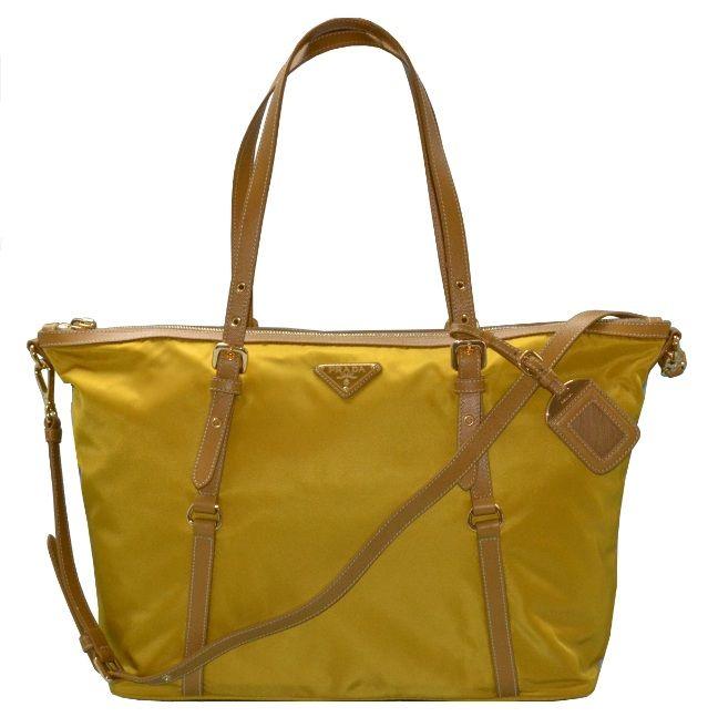 Prada Nylon Shopping Tote - Senape BR 4253 $2,550 (MYR)