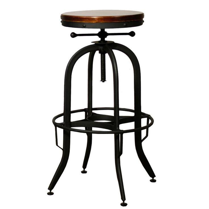 best 25 vintage bar stools ideas on pinterest rustic stools vintage stool and industrial bar. Black Bedroom Furniture Sets. Home Design Ideas