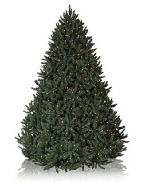 Pre-lit Artificial Christmas Trees with Clear Lights | Balsam Hill