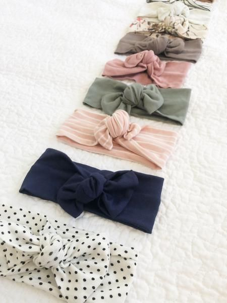 Head wrap Bow   – Baby stuff❤️
