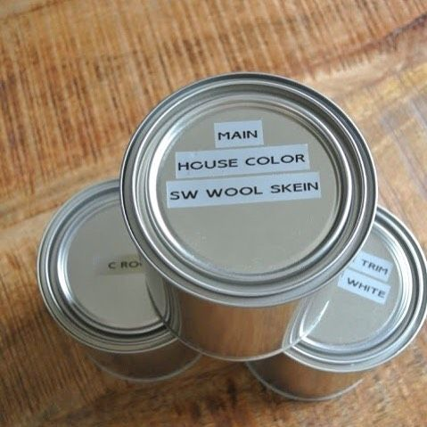 Organizing Tip If You Have Leftover Paint Lying Around That