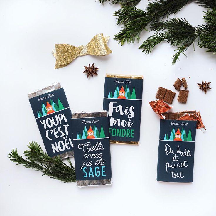 «La team des petites graphistes est de retour avec son kit Noël. Je vous propose pour ma part des emballages de tablettes (vous avez l'air d'aimer ). Et…»