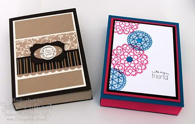 Card Box FREE Tutorial / not only is this useful for sending a box of handmade cards, but would be great to store my own handmade cards I send out for the year