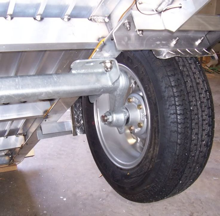 Aluminum Utility Trailer Build - The Hull Truth - Boating and Fishing Forum